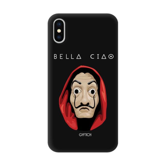 Bella Ciao crna Iphone X