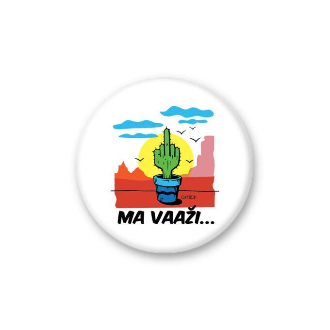 Magnet okrugli Mavazi